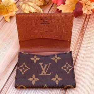 🍁Louis Vuitton Business card holder ECU